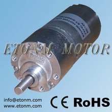 37mm long life 12v brushless dc motor gearbox, 37mm bl dc gearbox motor with speed controller