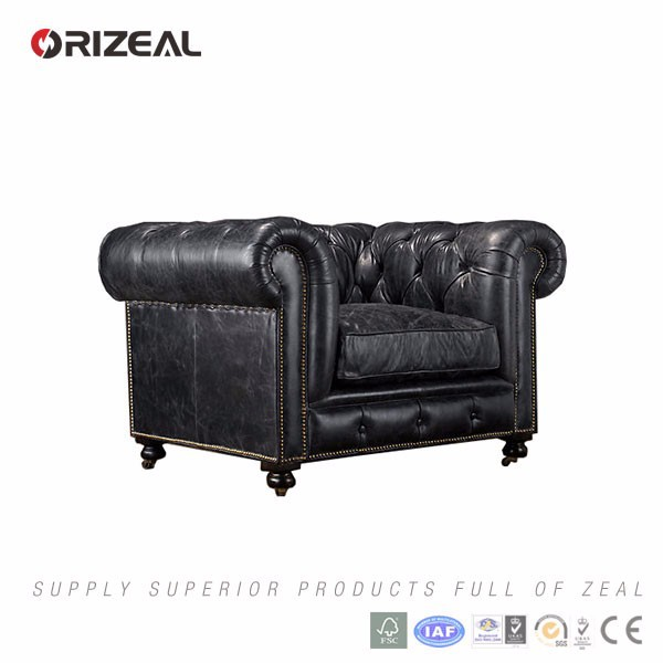 Orizeal Antique Leather Chair Cheap Leather Chair For Home