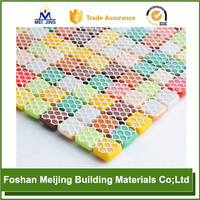 white polyester mesh motorcycle seat cover for paving mosaic