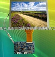 """LVDS interface LCD 7"""" tft display 1024x600 with Capacitive touch screen"""