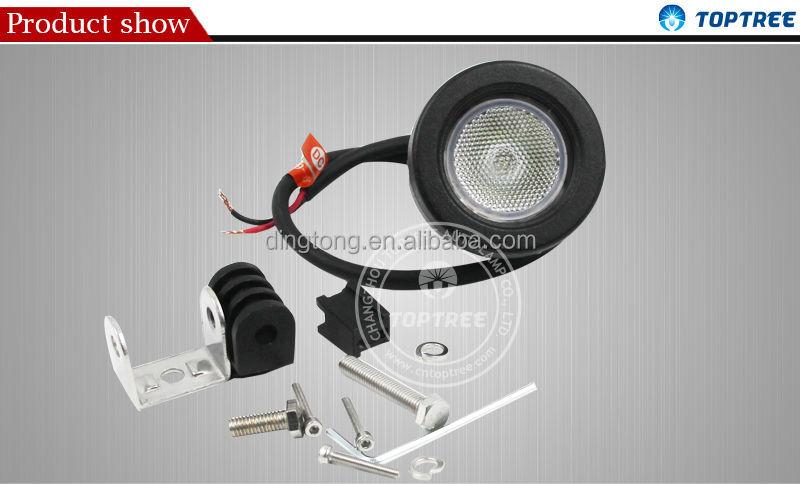 mini 12 v cree spot light moto 10 watt led lumi re stroboscopique syst me automatique d. Black Bedroom Furniture Sets. Home Design Ideas