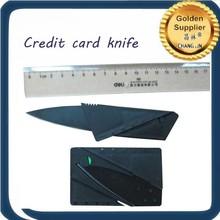 China Aliexpress Black credit card knife 200pcs with good quality Black credit card knife