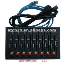 Dual band wavecom Q2406 module 8 port modem support STK /TCP/IP BULK SMS MMS