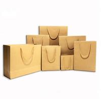 small kraft brown paper bag box
