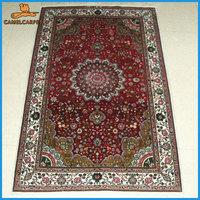 wholesale 76x122cm handmade silk arabic rugs for home