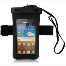 waterproof bag with arm band, waterproof pouch with headset hole,water proof case for iphone