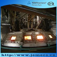 Silicon metal, Calcium carbide, Ferroalloy FeSi, FeAlSi, FeNi, FeMn, SiMn, FeCr Submerged arc furnace