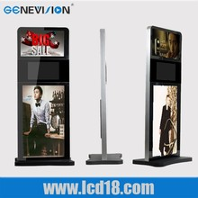 19'' 22'' 42'' floor standing portrait format and landscape format digital ad player