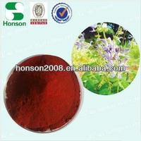 GMP+ISO9001 salvia extract/ Chinese salvia extract for medicine material