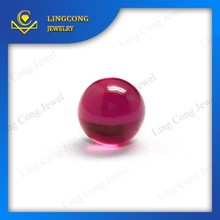 The factory price wholesale 5# corundum natural ruby beads