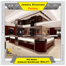 Jewelry display stand counter showcase for jewelry store in shopping mall Jewelry store whole professional design
