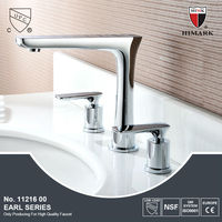 Deck mounted double handle quality promise faucet