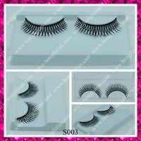 Premium fake eyelashes for sale synthetic hair false strip eyelash