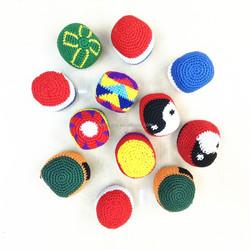 Eco-friendly promotional crochet juggling balls