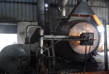 Rotary furnace for lead melting