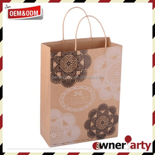 2015 New Fancy Eco Friend Brown Paper Bags for Sale