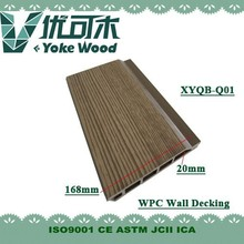 Outdoor High Strengh chocolate lumber WPC decking wood Plastic composite