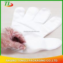 2015 billige einweg pe-kunststoff-handschuh für Haushalt und Restaurant