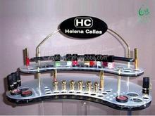 2015 Low Price Pen Display Nail Polish Display Acrylic Clear Make Up Brush Holder Reviews