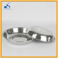 Stainless steel wholesalecheap restaurant dinner sets thermocol plates