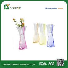 2015 new plastic vase,plastic flower vase,plastic foldable vase
