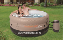 Eco-friendly PVC inflatable outdoor spa pool for adult