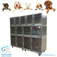 cheap cat kennel stainless steel