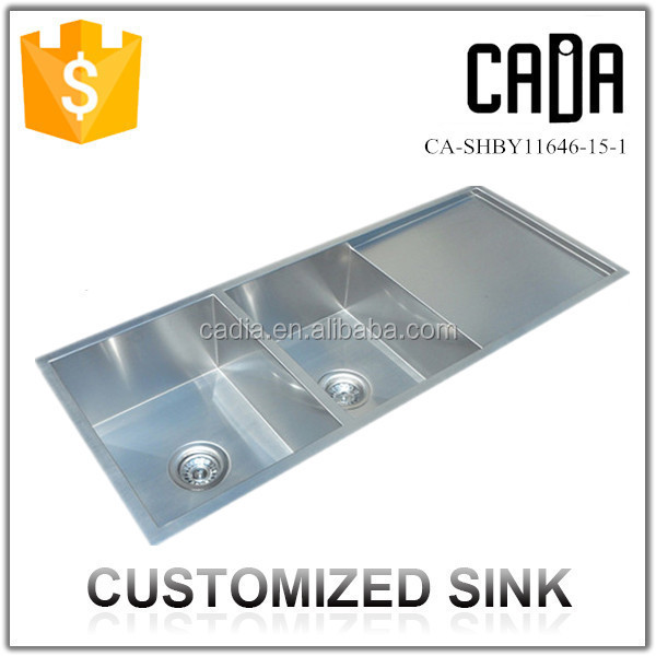 ... Stainless Steel Kitchen Double Deep Sink,5mm Thickness 304 Stainless
