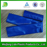 Small diameter PVC high-pressure collapsible irrigation pipe