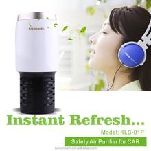 OEM factory mini ionic freshener air purifier electric car perfume for mini deodorant