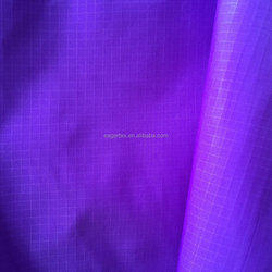 20d 0.25cm double line nylon ripstop fabric