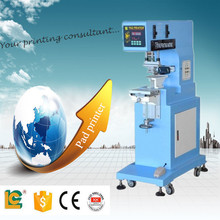 semi-automatic one color sealed ink cup pad printing machine for golf ball LC-PM1-250T