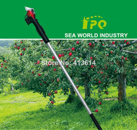 telescopic electric pruning shear with li-ion battery long extension long pole