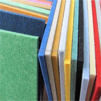 Fire Rated Polyester Fiber Soundproof Acoustic Wall Panel