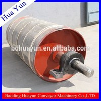 drive Conveyor pulley with bearing manufacture