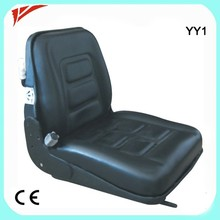 China supplier Reach truck seat , forklift seat cushions , telescope boom forklift seat