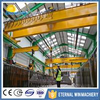 20ton double girder electric overhead crane with big discount