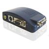 PC VGA to TV AV Composite RCA S-Video Converter Box