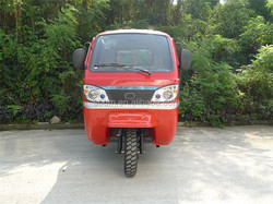 Chongqing Closed Cabin Three Wheel Motorcycle with Reverse Image System