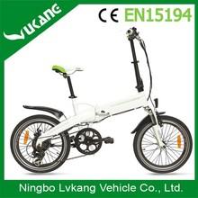 Hidden Lithium Battery Folding Electric Sports Bike