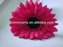 la margarita del gerber cabezas de venta al por mayor de seda gerbera daisy flor de la del partido decoración margarita