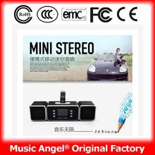 best sound usb mp3 player with speaker mini speaker with built in amplifier usb charge portable speaker for Tablet