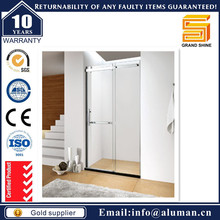 wholesale shower room with combo bathtub aluminium alloy