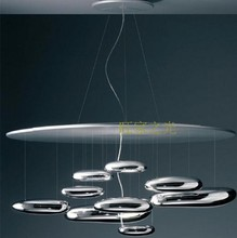 China supplier led modern metal ceiling mounted lamp for hotel project