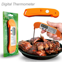 CE/RoHs new folding thermometer digital food,good meat cooking thermometer
