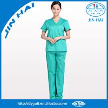 Customized tunic hospital nurse/doctor clothes