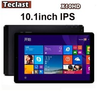 "Teclast X10HD 3G Dual Boot Win 8.1& Android 4.4 Tablet PC Intel Z3736F Quad Core 2GB/64GB 10.1"" IPS 2560x1600 3G Phone Call"