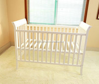 dropside rail of baby cot/safety australia baby cot/wooden baby cot wholesale