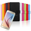 Genuine leather case for Samsung Galaxy S6 G920F protective skin 100pcs/lot