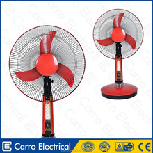 Good quality usha rechargeable fan that portable rechargeable emergency fan with led light